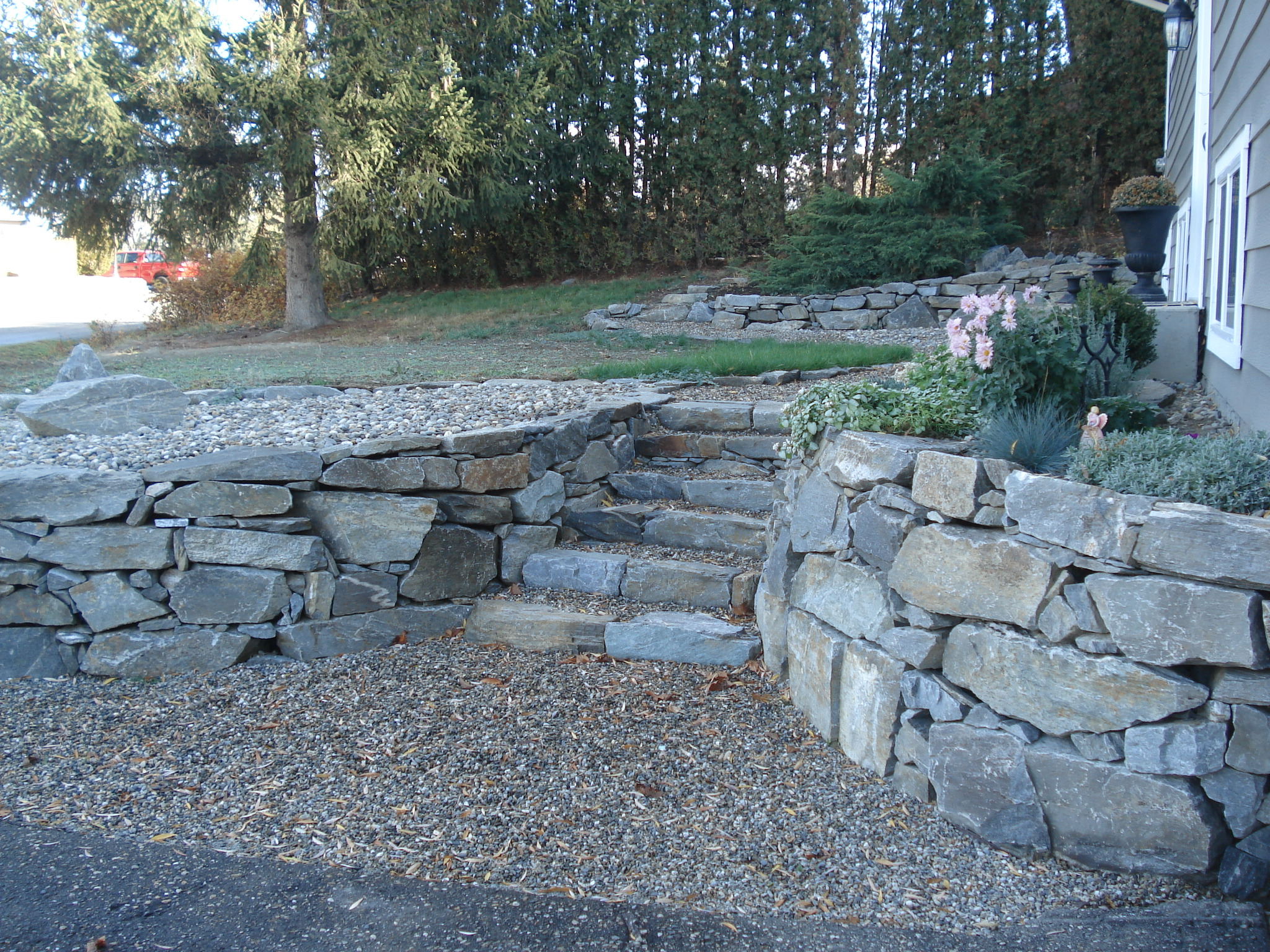 landscaping rocks vernon bc home landscape design